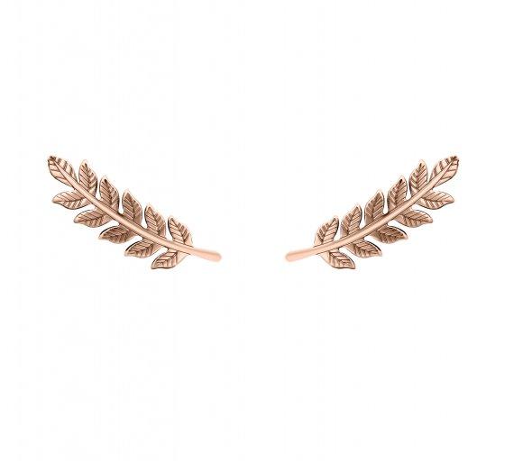 grav leaf arany 14k fülbevaló
