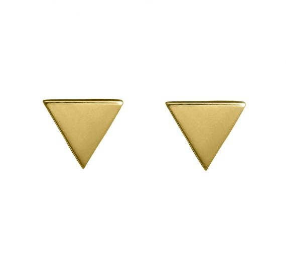 Grav Triangle Arany 14k Fülbevaló