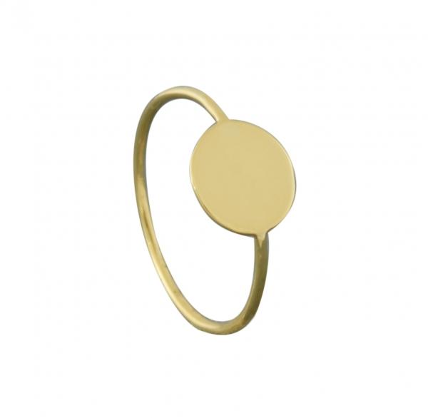 GRAV circle Arany 14K Gyűrű