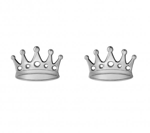 GRAV crown Ezüst 925 Fülbevaló
