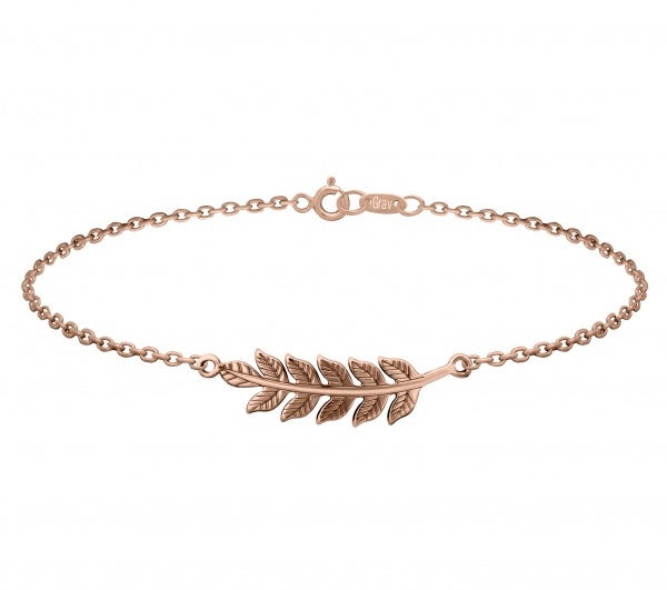 grav leaf arany 14k karkötő
