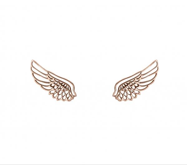 grav angel wings arany 14k fülbevaló