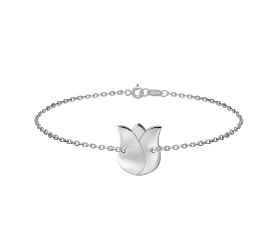 GRAV tulip Ezüst 925 Karkötő