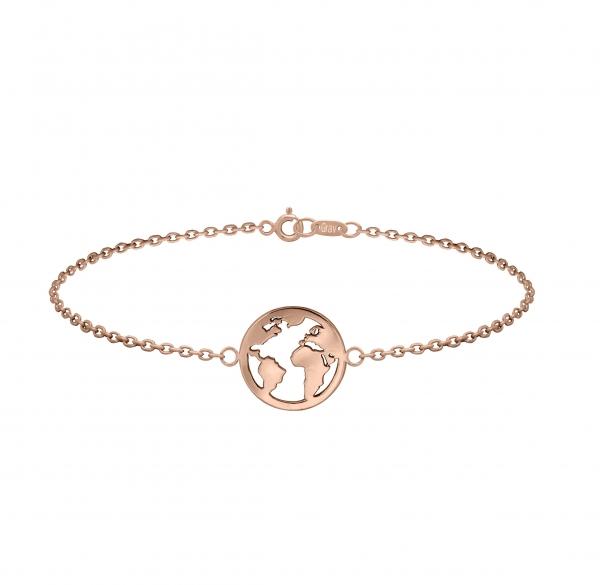 GRAV earth Arany 14K Karkötő