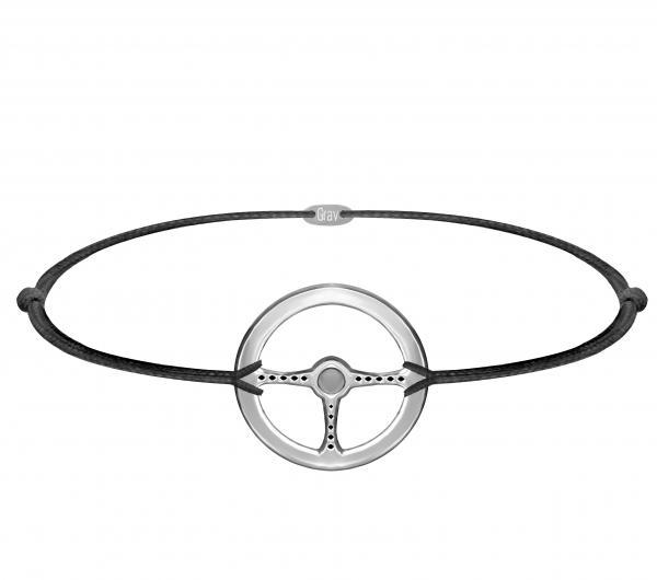 grav men wheel ezüst karkötő