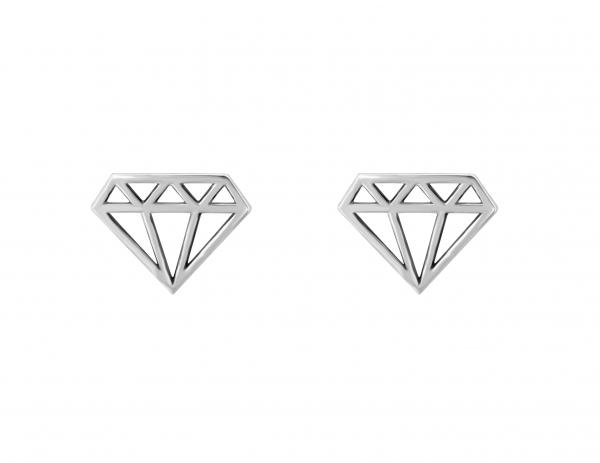 GRAV diamond Ezüst 925 Fülbevaló
