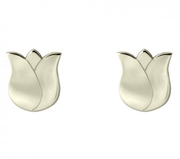 GRAV tulip Arany 14K Fülbevaló
