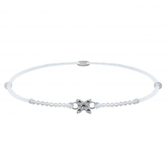 GRAV Sparc Star Gemstone Ezüst 925 Karkötő