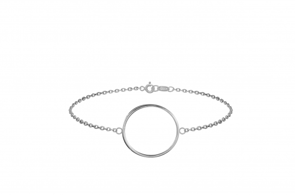 GRAV contour circle Ezüst 925 Karkötő