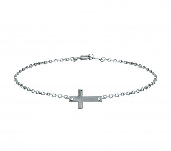 GRAV cross Ezüst 925 Karkötő