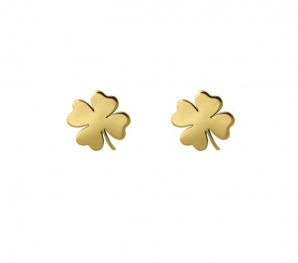 GRAV luck Arany 14K Fülbevaló