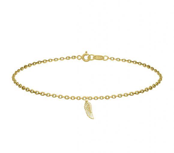 GRAV angel wings Arany 14K Karkötő