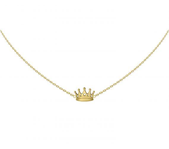 GRAV crown Arany 14K Nyaklánc