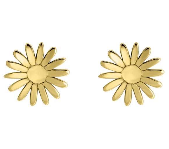 GRAV bloom Arany 14K Fülbevaló