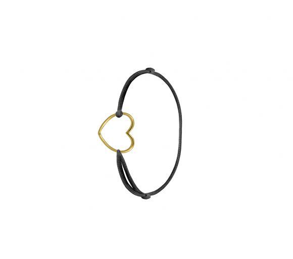 Grav Kontúr Szív Arany 14K Gyűrű