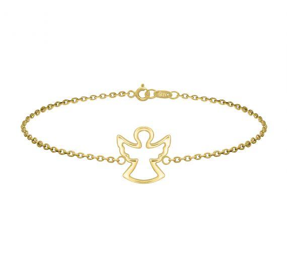 GRAV angel Arany 14K Karkötő