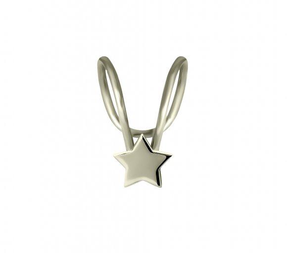 GRAV Mina Arany 14K Fülgyűrű