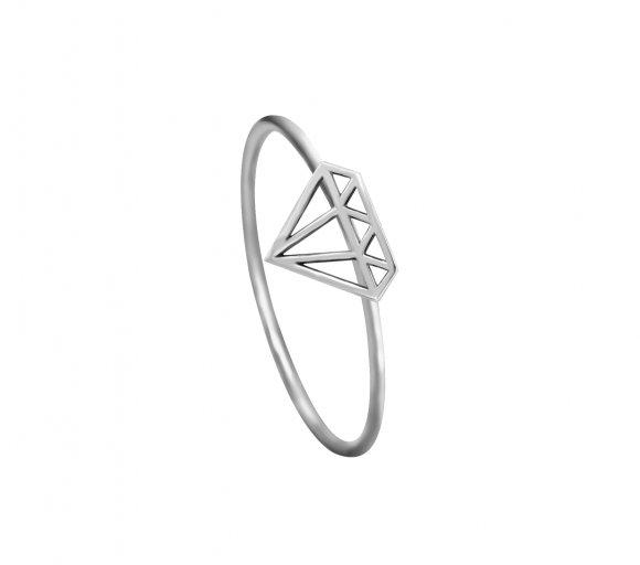 GRAV diamond Ezüst 925 Gyűrű