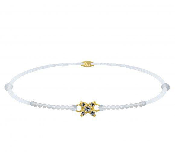 GRAV Sparc Star Gemstone Arany 14K Karkötő