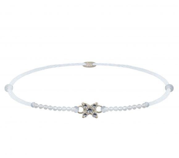 GRAV Sparc Star Crystal Arany 14K Karkötő