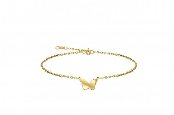 Grav Butterfly Arany 14K Bokalánc