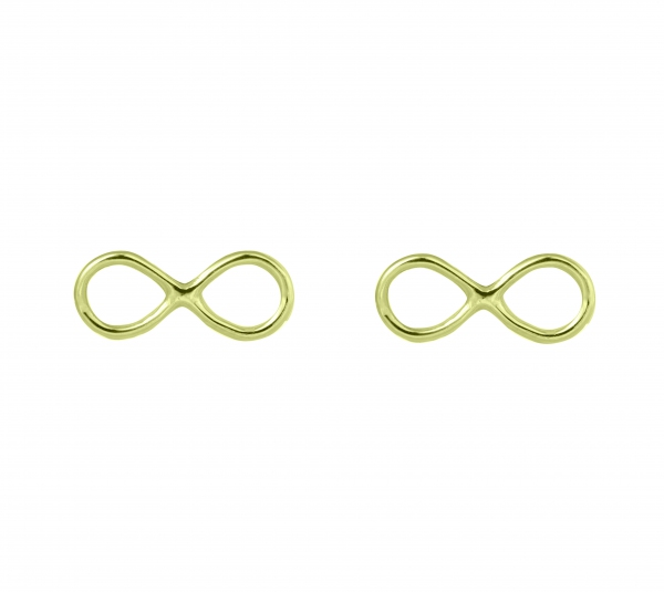 GRAV infinity Arany 14K Fülbevaló