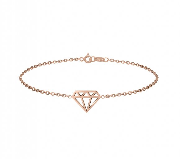 GRAV diamond Arany 14K Karkötő