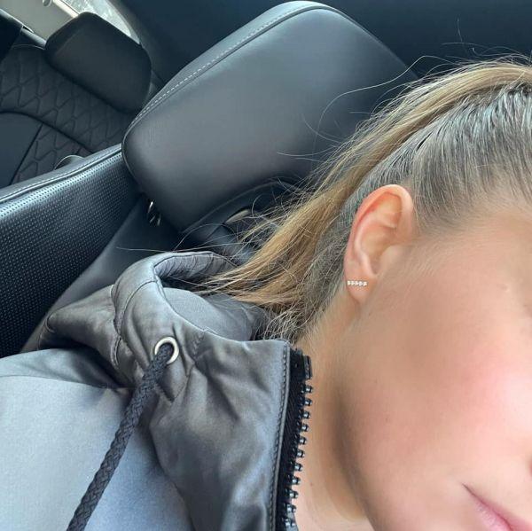 Grav Chloe Ezüst Fülbevaló