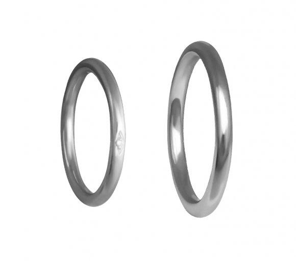 Grav Marry Ezüst Gyémánt Karikagyűrű