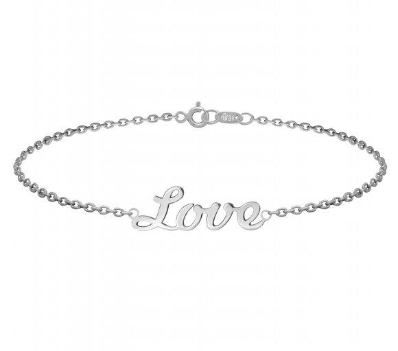Grav Love ezüst karkötő