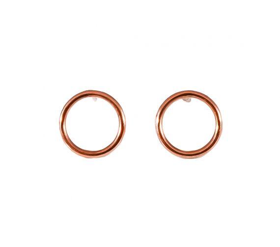 GRAV contour circle Arany 14K Fülbevaló