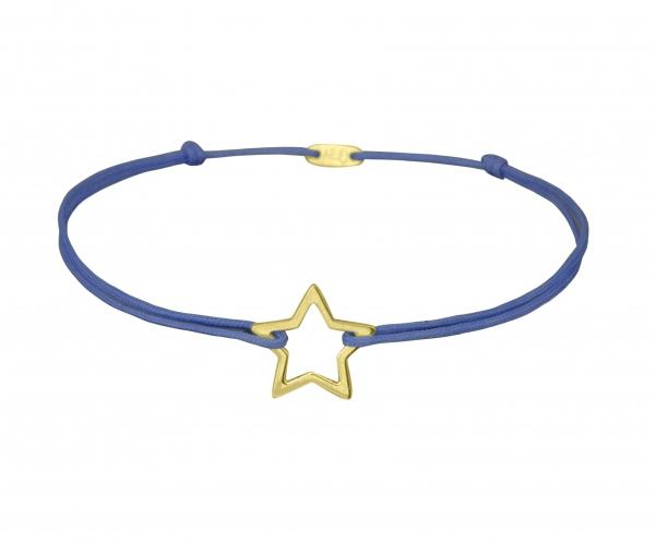 GRAV star Arany 14K Karkötő
