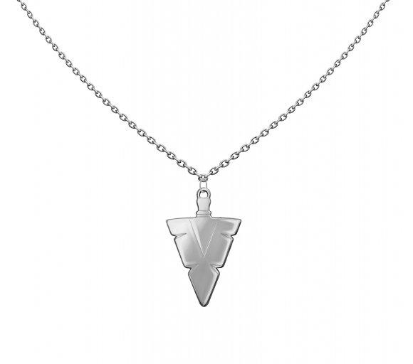 Grav men arrow ezüst nyaklánc