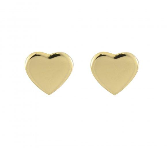 GRAV heart Arany 14K Fülbevaló