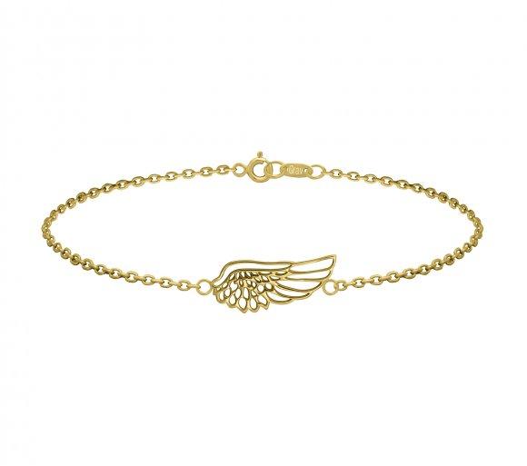 GRAV angel wing Arany 14K Karkötő