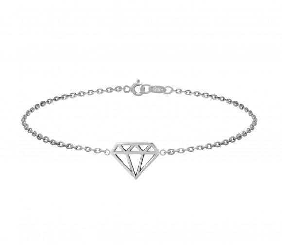 GRAV diamond Ezüst 925 Karkötő