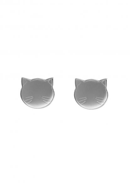 Grav Cat Ezüst Fülbevaló
