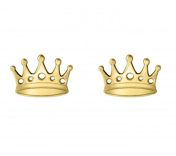 GRAV crown Arany 14K Fülbevaló