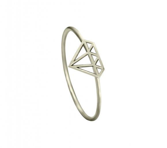 GRAV diamond Arany 14K Gyűrű