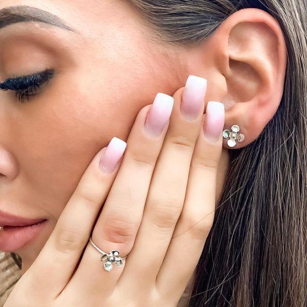 Grav Flower Ezüst Gyűrű